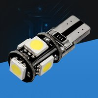 Wholesale T10 W5W SMD LED SMD LED CANBUS NO ERROR Car marker light parking Lamp motor DRL bulbs white red blue X