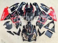 Wholesale Aprilia Rs125 Fairing Set - New Injection ABS Full bike fairing kits for aprilia RS125 2006-2011 RS 125 06 07 08 09 10 11 RS4 bodywork set+Tank cover color black red