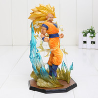 18 CM Anime Dragon Ball Z Action Figure Goku Super Saiyan 3 Fils Goku PVC Dragon Ball Z Figurines Collection Jouet