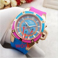 Wholesale Marines Sports - French Luxury brand high quality Technomarine Technosport watch Multifunctional quartz outdoor sports Marine version Unisex silicone watch