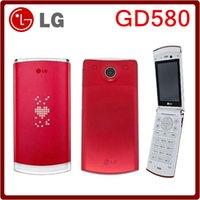 """Wholesale External Lg - GD580 Original Unlocked LG GD580 800mAh 3.15MP 2.8"""" Flip External Hidden OLED Refurbished Cellphone"""