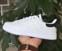Wholesale High Fashion Sneaker Women - 2017 High Quality Top Quality Women Men Shoes New Stan Shoes Fashion Smith Sneakers Casual Leather Sport Running Shoes