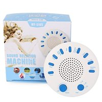 Wholesale Premium Sounds - Sound Spa White Noise Relaxation Machine Premium Sleep Therapy Sound Machine with 9 Nature Sounds Timer Best Gift for Baby Child Parents