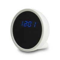 Wholesale White Dvr Clock - 32GB P2P WiFi IP 1080P HD Clock Pinhole Camera DVR Camcorder Motion Detection Remote View Real time Video for PC Smartphone Free Shipping