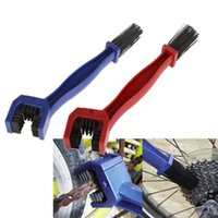 Wholesale free scrubber - Plastic Cycling Motorcycle Bicycle Chain Clean Brush Gear Grunge Brush Cleaner Outdoor Cleaner Scrubber Tool Free DHL