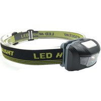 Wholesale Bike Ray Lights - LED Headlight Head Bike Lamp Light Infrared Ray Mini Waterproof 600Lm 4 Modes R3+2 LED 3xAAA Headlamp With Headband