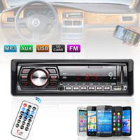 araba radyo girişi toptan satış-In-Dash FM Araba Girişi Alıcı Stereo 50 W x 4 LCD Ekran SD USB MP3 WMA Radyo Çalar CAU_015