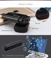 Wholesale Mini Usb Wireless Video Camera - Infared Night Vision U-Disk Camera 1080P HD Mini Wireless Hidden Spy Camera USB Flash Drive Video Camera Camcorder Spy USB Recorder 120 Degr