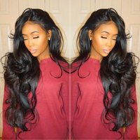 Wholesale Glueless Lace Wig Bleached Knots - Top Quality Brazilian Wet and Wavy Human Hair Wigs Brazilian Body Wave Lace Front Wigs Glueless Full Lace Wigs Bleached Knots
