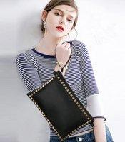 Wholesale Multi Color Mini Hearts - South Korea Contracted Envelope Type Multi-purpose Wallet 4 Color Hand Bag Mini Cute Women's Handbag Free Shipping