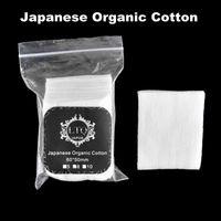 Wholesale Ecig Atomizer Free Shipping - Japanese Organic Cotton For DIY RDA RBA Atomizer Ecig Coils Free Shipping