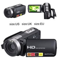 Wholesale Option Points - Wholesale-High Quality 1080P HD Night Vision Black Digital Camera Video DV 3.0'' 16x Zoom Cam US EU UK Plug For Option