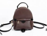 Wholesale Mini Pc Bag - AAAA NEW 2017 BAG 100% leather NEW PALM SPRINGS BACKPACK MINI handbag SMALL NEW PALM SPRINGS BACKPACK MINI HANDBAG school bags