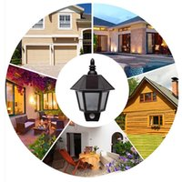 Wholesale Rv Solar Power - Wholesale- Bright Solar Powered Outdoor LED Light Motion Sensor Wireless Security Lighting for Patio, Outside Wall, Stairs, Home, RV, Deck