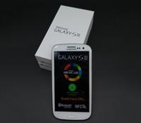 ingrosso ristrutturato s3-Originale Samsung Galaxy S3 i9300 Quad core Ram 1GB Rom 16GB 4.8 pollici 8MP GSM 3G sbloccato Cell Phone ricondizionato