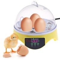 Less than 1W 100 - 240V 7 Eggs and More Egg Boilers Mini 7 Egg Incubator Poultry Incubator Brooder Digital Temperature Hatchery Egg Incubator Hatcher Chicken Duck Bird Pigeon