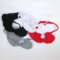 underwear men pouch bulge venda por atacado-Mens String Bikini Fashional Calcinha Bulge Contorno Bolsa G703C Fina de Algodão Fino Jersey Macio Conforto da roupa interior dos homens