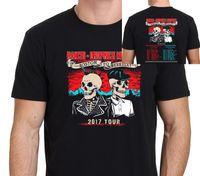 Wholesale T Shirt S Printing Machine - Cool Casual Men'S Rancid And Dropkick Murphys 2017 Tour Short Printing Machine O-Neck T Shirts
