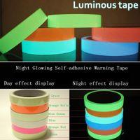 Wholesale Light Meter Film - 5 meters length self-adhesive glowing tape store light night dark luminescence film