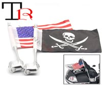 Wholesale Details about Rear Side Mount Flag Pole America Flag High Quality Flag Pole With For Hond