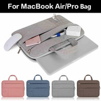 Wholesale for asus laptop resale online - Laptop Bags Sleeve Notebook handbag Case for Dell HP Asus Acer Lenovo Samsung Macbook inch Retina Pro quot