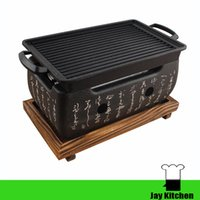 Wholesale Aluminum Oven - Japanese barbecue grills charcoal bbq grill Text charcoal oven stove furnace barbecue grill small alcohol charcoal oven tea cooker