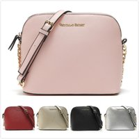 Wholesale Pattern Houses - landy house for victoria's 2017 new handbag cross pattern synthetic leather shell bag chain bag shoulder messenger bag small fashionista
