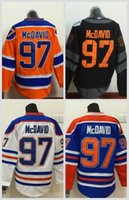 Wholesale Best Quality Cotton - 2016 World Cup North America Ice Hockey Jerseys Black Edmonton Oiler 97 Connor McDavid Jersey Men Fashion Best All Stitched Quality