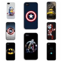 For Apple iPhone spider man case - TPU Marvel Hero Captain America Superman n Iron Man Batman n Spider Man Case For Apple iPhone Plus Phone Cover For iPhone6