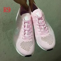 Wholesale Sky Racer - 2017 High Quality Spring and Fall Air Zoom Mariah Racer White pink Green Grey Lightweight Breathable boost Walking Hiking casual Shoes