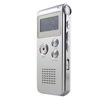 flash-sound-tasten großhandel-Wholesale-2016 neue Ankunft wiederaufladbare 8 GB 650HR Digital Audio / Sound / Voice Recorder Diktiergerät MP3-Player hohe Qualität