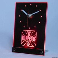 Wholesale Clock Bike - Wholesale-tnc0179 West Coast Choppers Bike Table Desk 3D LED Clock