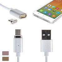 Wholesale 3in1 Usb Data - Magnetic Charger Cable 3IN1 Micro Type c USB Magnet Cable Data Sync 1M Data Line Cables For Samsung HTC Huawei Android Phone