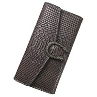 Wholesale Womens Black Wallet - Women Wallets Crocodile pattern leather Wallet Female Purse Long Coin Purses Holders Ladies Wallet Hasp Fashion Womens Wallets