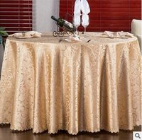 Wholesale Europe Jacquard Table cloth Table Cover square Banquet Wedding Party Decoration Tables Satin Fabric Wedding Tablecloth Home Textile