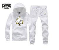 stilvolle sportbekleidung großhandel-Crooks und Schlösser Sweatshirt Diamant Mode Hip Hop Hoodie Herren Kleidung Sportbekleidung Hiphop Pullover schwitzt Marke Gaunern stilvoll