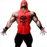Wholesale Xs Singlet - Wholesale- ZYZZ Mens Hoodie Singlets Sweatshirts Mens Tank Tops Stringer Bodybuilding Fitness Men's Shirts Vest