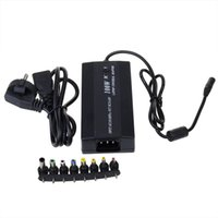 Wholesale Universal Adapter Laptop Asus - EU Plug 100W Universal Laptop Power Adapter with 8 DC Connecter USB Output Newest Replacement Laptop AC Adapter Power For Asus