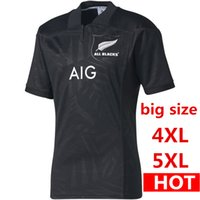Wholesale Wales Rugby Jersey - DHL Free shipping 2017 2018 QLD Maroons Malou Jersey Classic South Wales holden New Zealand All Blacks Rugby Jersey Big SIZE 4xl 5xl