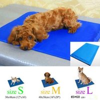 Wholesale Large Sized Cushions - Pet Dog Cat Pad Bed Cooler Mat Cool Cushion Seat 3 Sizes