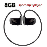 Wholesale Sport Mp3 Player W262 - Wholesale- Hot sale W262 8GB Mp3 Player Sport MP3 Music player Walkman NWZ-W262 earphone headphone mp3 player Free shipping