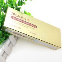 Wholesale Gold Advance - Bioaqua Moisturizing Whitening 24K Gold Pigmentation Corrector Face Cream Skin Care Cream Advanced Anti Wrinkle Syncronized