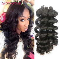 Wholesale Manufacturing Machines - Glamorous Virgin Peruvian Hair Weft 3Pcs Top Quality Human Hair Manufacture Offer Brazilian Indian Malaysian Ocean Wave Human Hair Extension