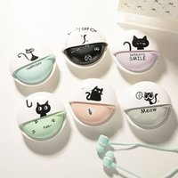 Wholesale Cat Ears Headphone - 3.5mm Cat Headset with Retail Package Cute 1.2M In-ear Headphones for Samsung Galaxy S3 S4 S5 S6 S7 S8 Edge Note 3 4 5 Xiaomi MY001