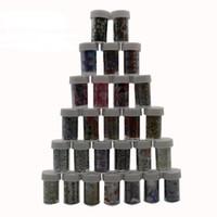 ingrosso chiodi floreali blu-Nail Art Transfer Nastro Adesivo Nail Stick Decal Decorazione Design Fai da te Fiori Serie Rosso Rosso Blu Verde Fiore