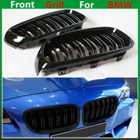 Wholesale Grid Bmw - F30 M3 style grill black kidney grille styling M Performance bumper grid for BMW 3 Series 2012 + F30 F31 F35 316i 318d 320i 325d