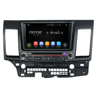 Wholesale mitsubishi radio bluetooth for sale - Group buy 8inch HD Screen Android Car DVD player for Mitsubishi Lancer with GPS Steering Wheel Control Bluetooth Radio