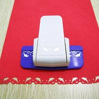 Wholesale Art Border Designs - Wholesale- Free ship New Fancy border hole punch dolphin design foam paper cutter lace craft puncher scrapbooking for DIY handmade crafts