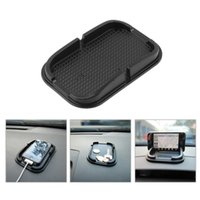 Sale Universal Multi-functional Car Anti Slip Pad Rubber Mobile Sticky Stick Dashboard Phone Shelf Antislip Mat pour GPS MP3 CIA_500
