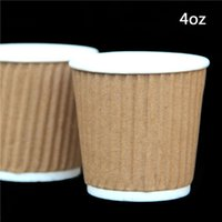 Wholesale oz Kraft Tripple Ripple wall disposable paper coffee cups Only